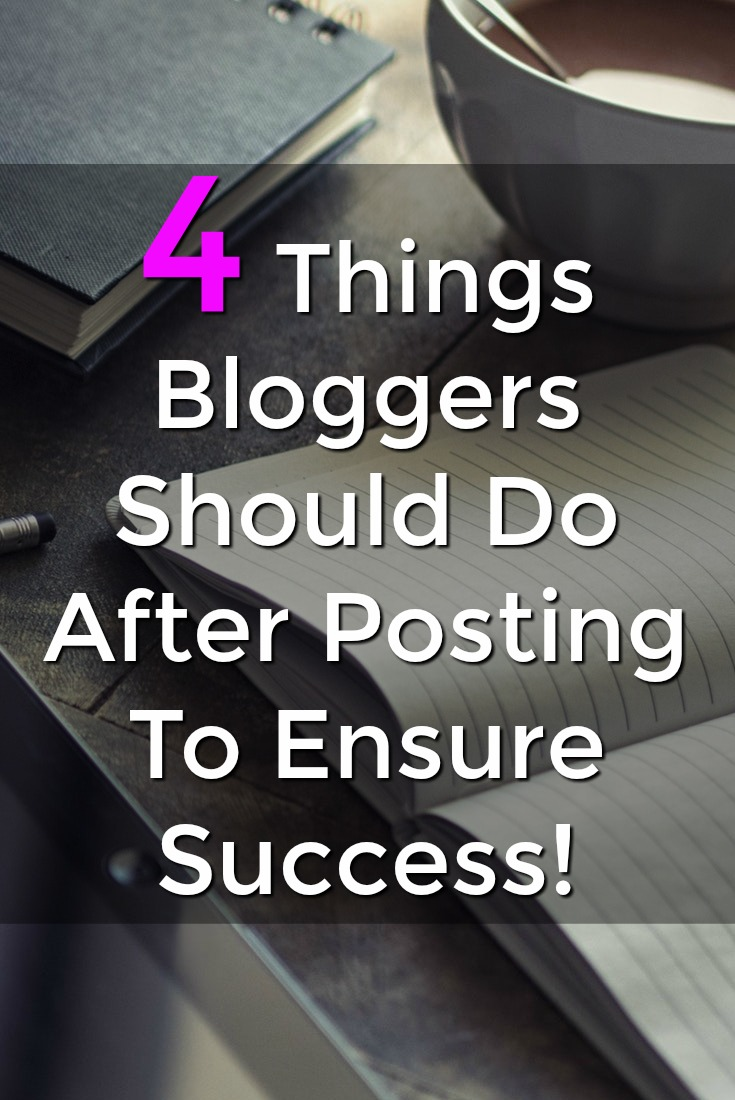 If you want to make sure your new content is seen by 1,000s of readers. You need to do these 4 things after publishing a new blog post!