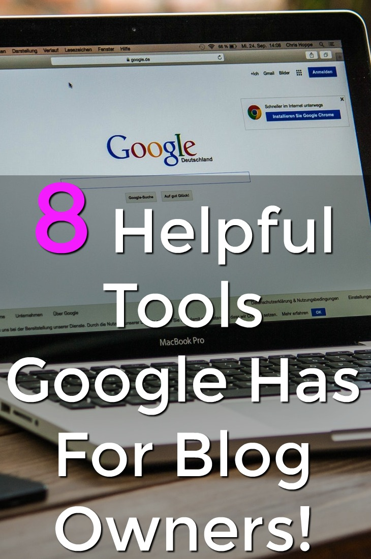 Are you a blogger? Make sure to check out these 8 tools that Google has to help you be successful!