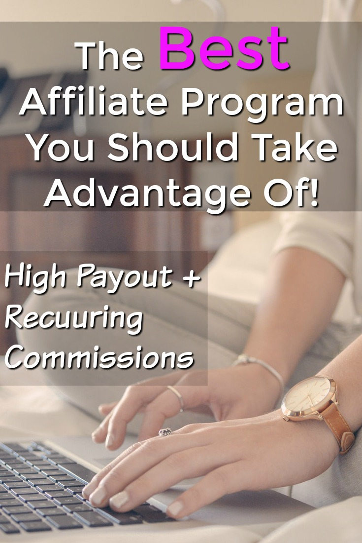 Are you looking for an awesome affiliate program? Here's one that has a high payout and recurring commissions!