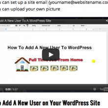 How to add a youtube video to a wordpress site