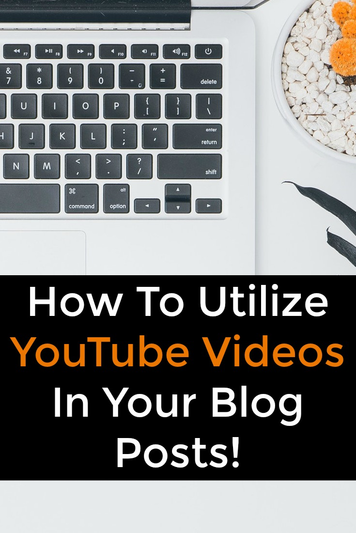You can use YouTube videos to supplement your blog posts and increase conversions. Learn how to add youtube videos here.