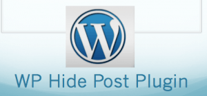 WP Hide Post