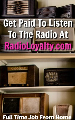 Learn How You Can Get Paid To Listen To The Radio On Your Computer With Radio Loyalty!