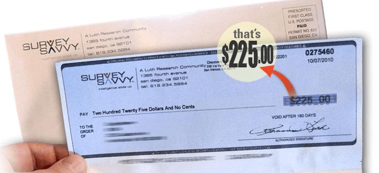 get cash for surveys scam