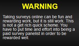 survey money machines warning