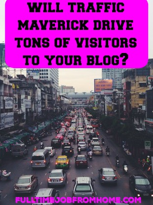 Will Traffic Maverick Drive Tons of Visitors To Your Blog? See if this program is key to more traffic to your website!