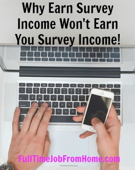 See Why Earn Survey Income is a scam and won't help you make money with paid online surveys. Plus learn where to find legitimate paid online survey sites