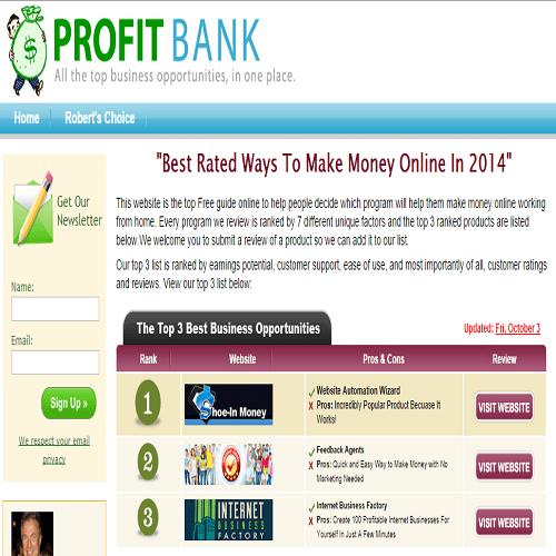 profit bank scam