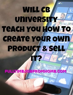 If you're looking to create your own ClickBank Product and sell it, ClickBank University may be the perfect product for you!