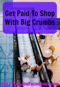 Learn How You Can Get Paid To Shop Online With BigCrumbs.com. One of my favorite online cash back portals!