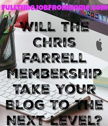 If you're a blogger, take a look at the Chris Farrell Membership. It could be the key to your blogging success!