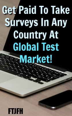 Learn How you can get paid to take surveys at global test market. It's even available in most countries outside the US