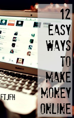 Are you looking to make money online and work at home? Here're are 12 easy and legitimate ways to do so!