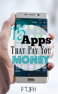 Did you know you can make money on your phone? Here're 15 apps that pay you money!