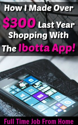 Learn How You Can Make Money While You Grocery Shop With The Ibotta App! I've already made over $300 and I spend less than $100 on food each week!
