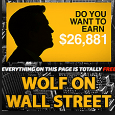 wolf on wall street scam review