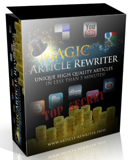 magic article rewriter review