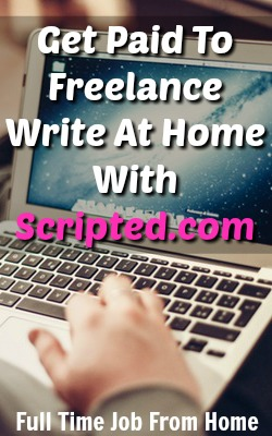 Learn how you can make a freelance writing income writing original content for scripted.com