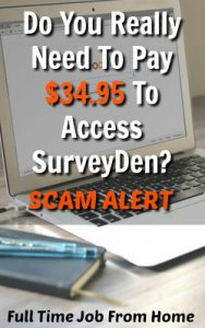 Why Survey Den Won't Help You Make More With Paid Online Surveys!