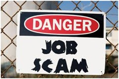 how to find online job scams