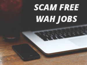 scam free work at home jobs