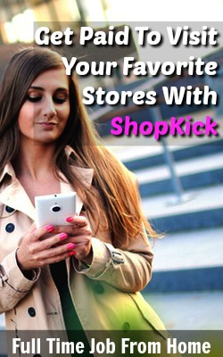 With the ShopKick App You Can Get Paid To Visit and Purchase Items From Your Favorite Stores