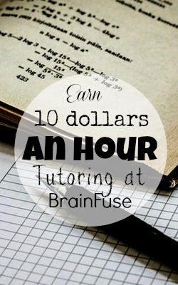 Learn How You Can Earn $10 an Hour Tutoring at Home With BrainFuse!