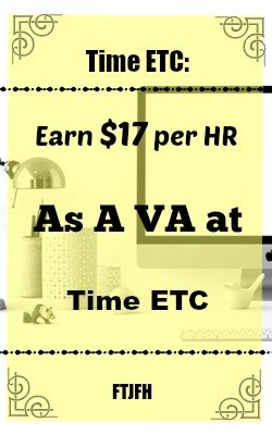 You Can Earn $17 an Hour Working At Home As a Virtual Assistant for TimeETC!