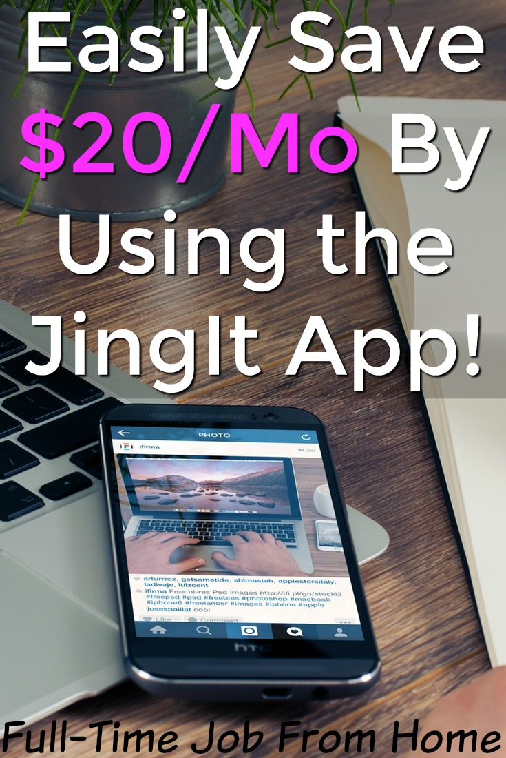 Learn How You Can Easily Save Money Each Month By Using the JingIt App While Shopping!