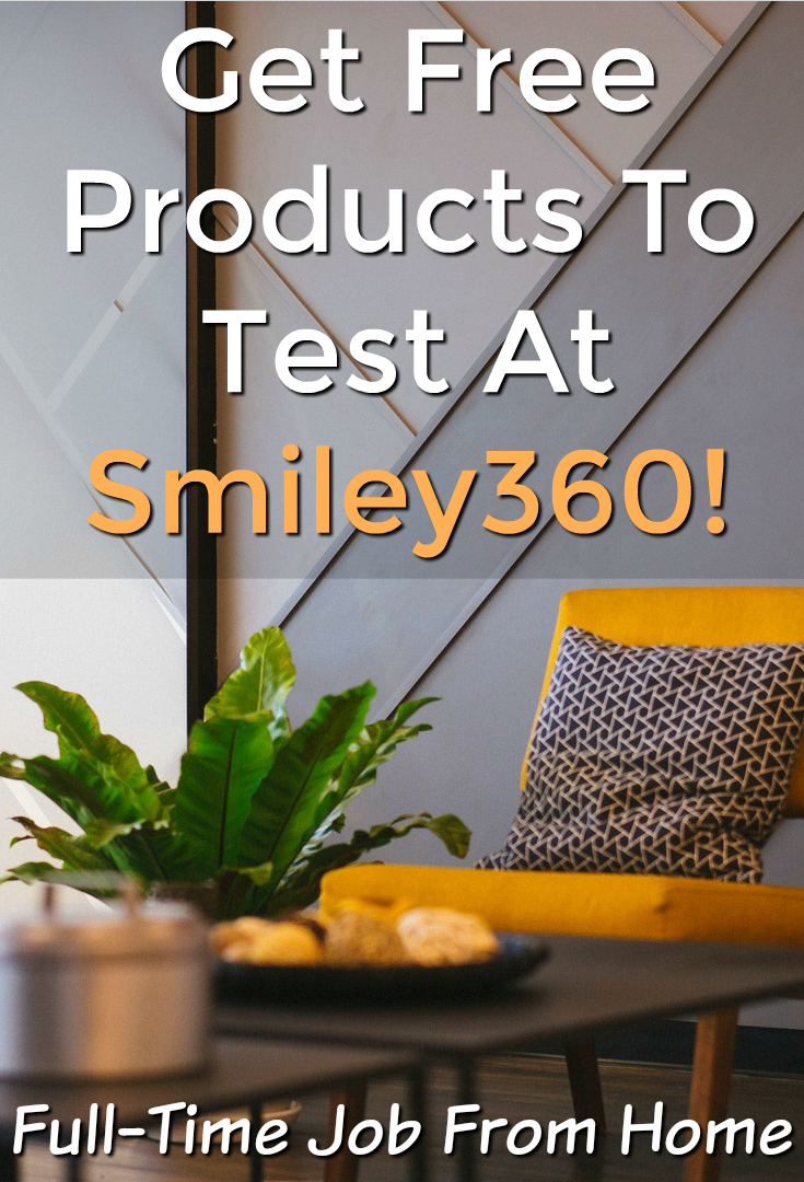 Do you want free products to test and keep? Learn how you can get free products to try at home with Smiley360!