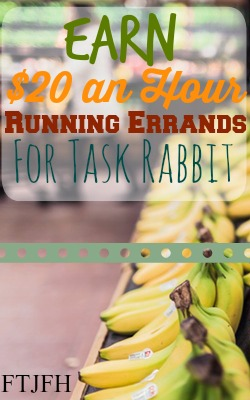 Learn How You Can Make $20 Running Errands, Like Getting Food or Picking Up A Package, at TaskRabbit!