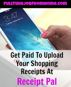 Learn How You Can Make Extra Cash Each Month Just By Taking Pictures Of Your Shopping Receipts Inside the Receipt Pal App!