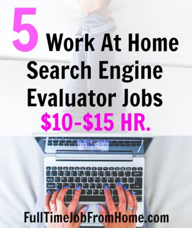 Learn 5 Places You Can Work At Home As A Search Engine Assessor and Provide Google With Information About Poor Search Results. Most sites pay $10-$15 an hour!
