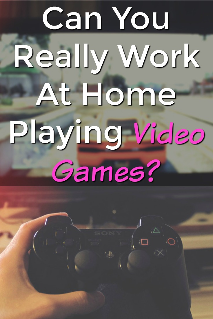 Companies will pay you to test video games but can you really work at home by getting paid to test video games?