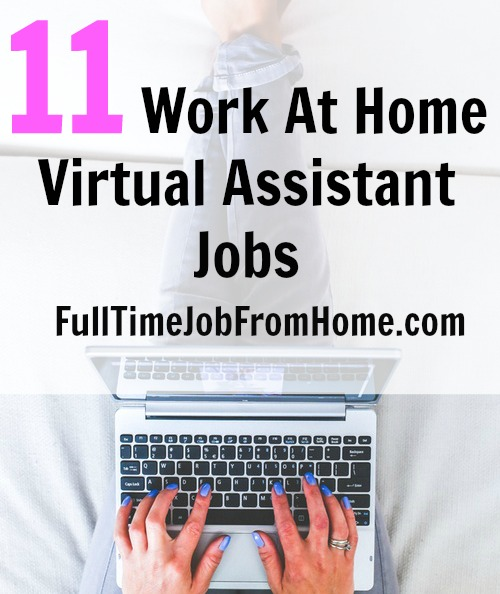 11 virtual assistant jobs from home