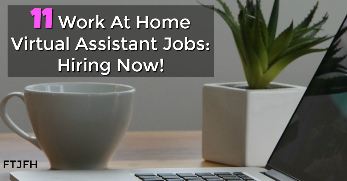 Take a look at these 11 Virtual Assistant Jobs That Actually Pay! Some do require VA experience, but some hire complete beginners!
