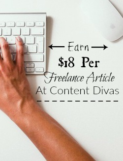 Learn How You Can Earn $18 Per Freelance Article You Write At Content Divas!