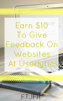 Learn How You Can Get $10 Giving Your Feedback on Websites at Userlytics!