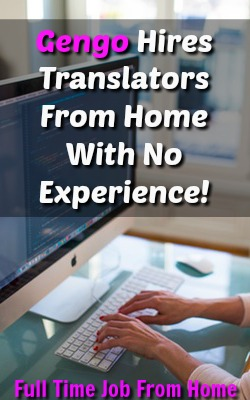 Are You Fluent In two languages? Learn How You can WAH as a Translator For Gengo. No Experience Required!