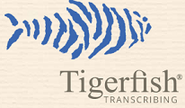 tigerfish transcription job review