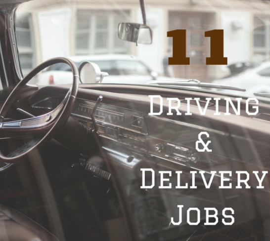 11 driving errand and delivery jobs