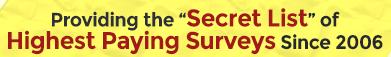 paid survey authority scam secret list