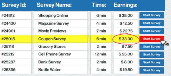 paid survey authority sales page
