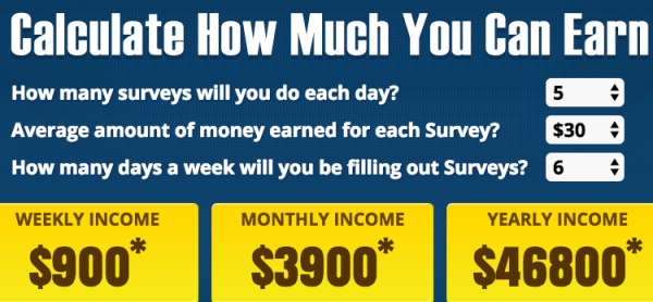 how much can you earn with paid survey authority