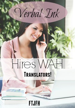 Learn How You Can Work At Home Translating For Verbal Ink!