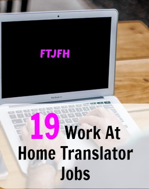 If you're fluent in multiple languages you may be able to get a work at home job as a translator! Here's 19 options if this applies to you!