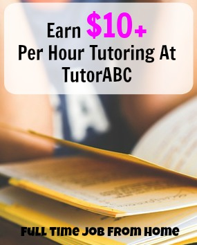 Learn How You Can Make $10 or More Per Hour Tutoring Students From Home At TutorABC!