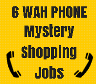 6 work at home telephone mystery shopping jobs scam free and legit