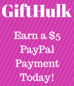 Learn How You Can Easily Earn A $5 PayPal Payment Today At GiftHulk.com!
