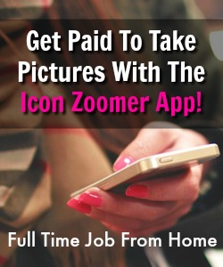 Learn How You Can Get Paid To Take Pictures On Your Smartphone With The Icon Zoomer App!
